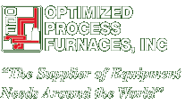 Optimized Process Furnaces, Inc. logo.